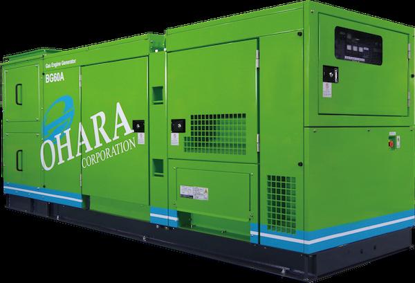 小型バイオガス発電システム
